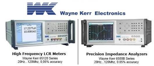 Analizatory Impedancji i Mierniki RLC